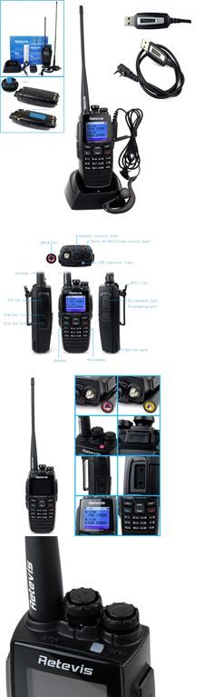 Walkie Talkies Two-Way Radios: Retevis Rt2 Dtmf Gps Walkie Talkie Vhf+Uhf 5W Dpmr Two-Way Radio+Usb Cable Us -> BUY IT NOW ONLY: $130.99 on eBay!