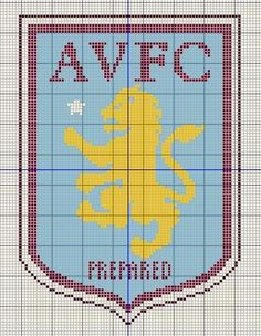 Billedresultat for liverpool fc cross stitch patterns uk Cross Stitch Bird, Cross Stitch Charts, Cross Stitch Designs, Cross Stitch Patterns, Beauty And The Beast Drawing, Cross Stitch Silhouette, Aston Villa Fc, Football Themes, Crochet Projects