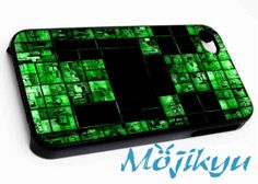 Minecraft Creeper Case For Your iPhone 4/4s, iPhone 5/5s, iPhone 5c, Galaxy S3, Galaxy S4, Galaxy S5, Custom