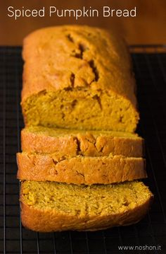 Spiced Pumpkin Bread - moist, tender, and absolutely delicious pumpkin quick bread for the Fall!