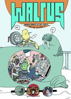 #Walrus #GN (Cover Artist: Brandon Graham) On Sale: 7/17/2013