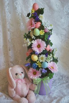 topiary crafts | Beautiful easter topiary | DIY & Crafts