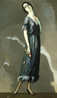 Kees van Dongen - Portrait de Madame Maria Ricotti 1921 ~Repinned Via Anita Brouwers Slager