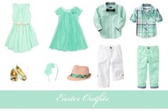 Outfit idea for the Easter photo shoot