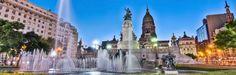 BUENOS AIRES - A monument at Congress Square Corrientes (Argentina)