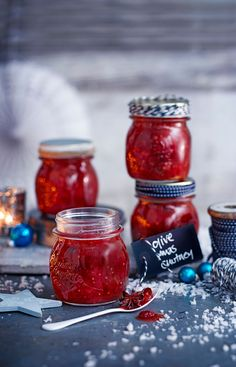 A classic spiced chutney to serve with cheese or cold cuts. The flavour gets mellower and deeper the longer it's left, give it a week before diving in.