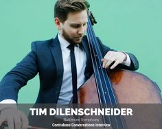 Tim Dilenschneider is the latest addition to the Baltimore Symphony double bass section. Tim isa former student of Hal Robinson and Edgar Meyer at Curtis, and he studied with Ranaan Meyer while in high school. We dig into: how everything outside of the audition can seem to go wrong and you still win the audition...