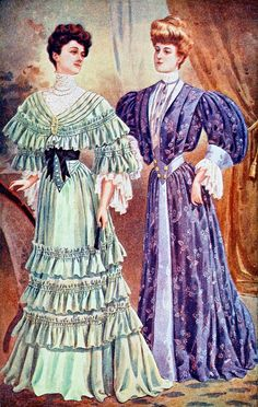 Fashion Plate - The Delineator, October 1904