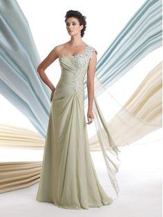 Chiffon Trapezio Monospalla Abiti per Matrimonio in sleeveless http://www.belloabito.com/chiffon-trapezio-monospalla-abiti-per-matrimonio-in-sleeveless-p-2865