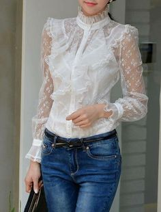 28 Best Classic long sleeve blouse. images  431ccaba8