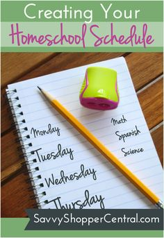 Here are some tips on creating a schedule that works for you and your family.