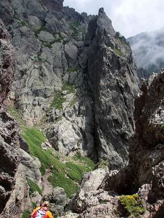 GR 20 Corsica - is a walking path on the island. #Corsica #Corse