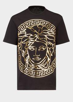 2fea1def 31 Best Versace Medusa T-shirts images | Versace medusa t shirt ...