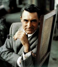 """""""I pretended to be somebody I wanted to be until finally I became that person. Or he became me."""" -Cary Grant"""