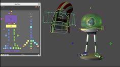 """Rig&anim for school.animationclub.ru Model provided """" school.animationclub"""""""