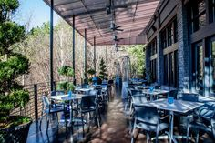 New patio unveiled at Ray's on the Creek.  www.raysrestaurants.com