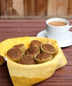 Banana walnut mini muffins, uses bananas applesauce and I can sub avocado for butter if I need/want...