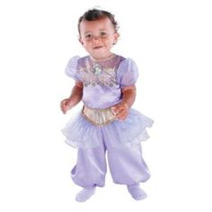 Kid's Jasmine Infant Aladdin Halloween Costume 12M-18M