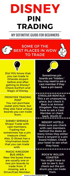Best places to trade pins in Walt Disney World!