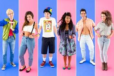 You can dress up as the Saved by the Bell cast with this DIY group Halloween costume tutorial.