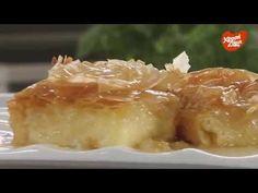 Μπακλαβαδάκια με κονφί πορτοκαλιού   ΧΡΥΣΗ ΖΥΜΗ Greek Sweets, Greek Desserts, Macaroni And Cheese, Pudding, Cooking, Ethnic Recipes, Food, Cakes, Youtube