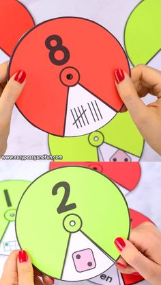 Need a hands on activity to help your kids with number sense? These printable number spinners with numbers from 1 to 20 are really easy to set up and fun to explore. education Printable Number Spinners 1 to 20 – Number Sense Preschool Learning Activities, Preschool Activities, Teaching Kids, Alphabet Activities, Number Sense Activities, Alphabet Worksheets, Hands On Activities, Math For Kids, Fun Math
