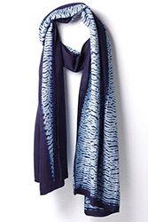 Bangladesh's Living Blue combines local hand-stitching and Japanese shibori techniques. Bolaka Silk.
