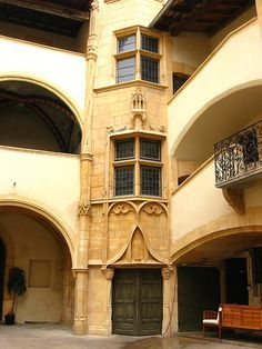 Courtyard, Old Lyon, France