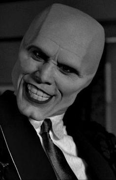 Jim Carrey, as The Mask