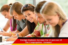 International Students Constitute 12% Of Germany's Student Population