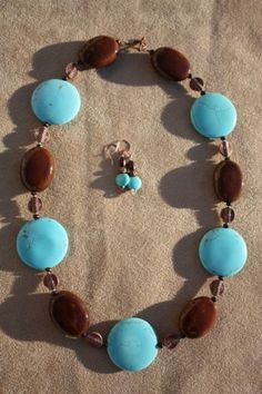 Howlite disks with Honey brown ceramic ovals & copper accents at TTE Designs on Art Fire $28 earrings included Copper Accents, Honey Brown, My Etsy Shop, Fire, Drop Earrings, Stylish, Bracelets, Jewelry, Design
