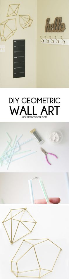 Make some DIY wall a