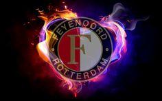 Feyenoord Rotterdam Logo 4K - http://wallucky.com/feyenoord-rotterdam-logo-4k/