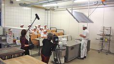 Hier gehen Bäckerlehrlinge zur Schule: in der Akademie Deutsches Bäckerhandwerk in Dresden.