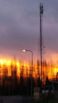 Aamuinen aurinko