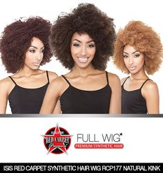 If you love everything about natural, Red Carpet Natural Kink is the style for you! Red Carpet Natural Kink features a natural style Afro with tightly coiled kinks resembling natural kinky hair. Available in a variety of colors, Natural Kink will rock the runway! ✨😍 Shop Now @ samsbeauty.com 👏 #blackgirlmagic #wig #fullwig #kinkyhair #afrohair #hairstyle