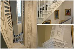 no 1 royal crescent staircase - Google Search Museum Displays, Historic Homes, Room Set, Somerset, World Heritage Sites, No Frills, Britain, Stairs, England