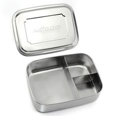 MasterChef Premium Large Stainless Steel Food Container | Bento Lunch Box For Adults and Kids | Stainless Steel Lunch Box | Dishwasher Safe and BPA Free | Not Leak Proof
