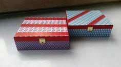Sigarendoosjes Decorative Boxes, Home Decor, Paper, Decoration Home, Room Decor, Home Interior Design, Decorative Storage Boxes, Home Decoration, Interior Design