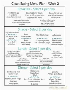 The 3 Week Diet Loss Weight Plan Clean Eating Menu Plan Week- fre printable wee. - The 3 Week Diet Loss Weight Plan Clean Eating Menu Plan Week- fre printable weekly meal plans Clean Eating Snacks, Clean Eating Diet Plan, Clean Eating Recipes, Clean Meals, Healthy Eating Plans, Detox Eating Plan, Healthy Eating Schedule, Clean Meal Plan, Meal Prep