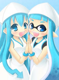 Adorable! Love Squid Girl.