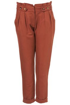 cute trousers, but I'm afraid they would make my hips look even wider =(