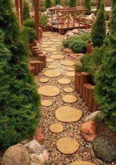 Love this idea for a sidewalk