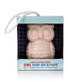 Look at this Owl Soap on a Rope on #zulily today!