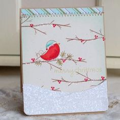 Holiday card by Betsy Veldman for Papertrey Ink (October 2011).