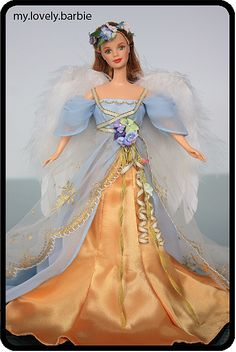 1998 - Harpist Angel™ Barbie® - Angels of Music® Collection by My lovely Barbie, via Flickr