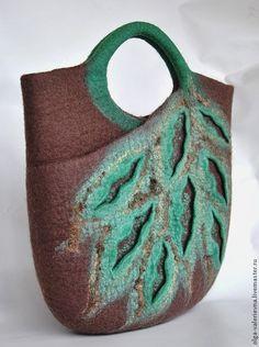 Купить Сумка Листья. - бежевый, сумка, сумка женская, сумка ручной работы, сумка с декором