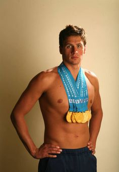 Ryan Lochte is a swimmer for Team USA. #London #Olympics
