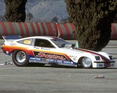 The SHOWTIME Funny Car