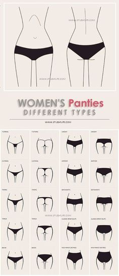 25 Different Types of Panties for Women